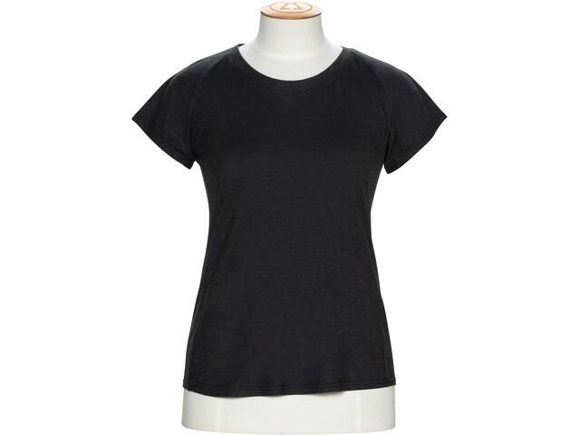 Alchemy Equipment Organic Fitted Bluzka z krótkim rękawem Kobiety, black